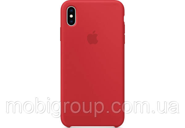 Чехол Silicone Case для iPhone Xs Max, Red