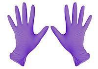 """Перчатки  нитриловые XL )хлор., текстур., б/п (50 пар/упак) ТМ """"Medicare"""""""