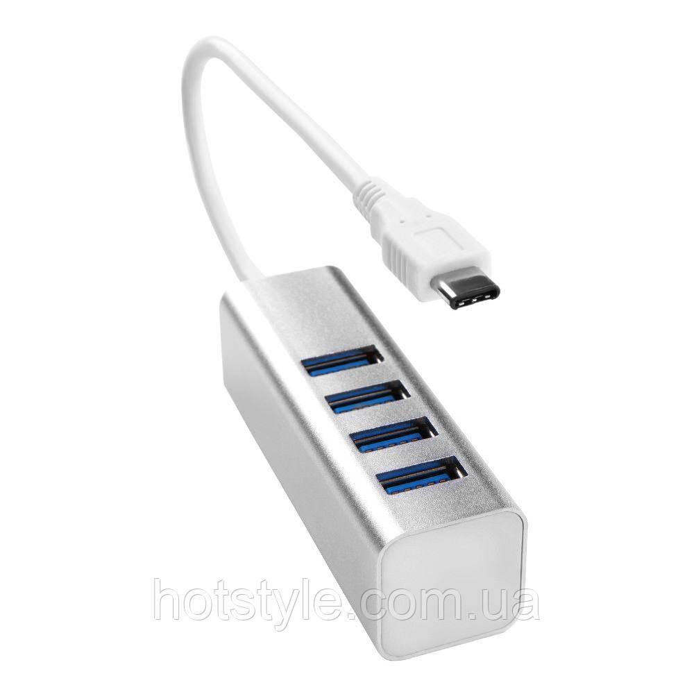 USB 3.1 Type-C хаб разветвитель на 4x USB 3.0