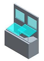 Скляне накриття приямків, фото 1