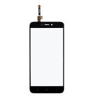 Сенсор (тачскрин) для Xiaomi Redmi 4X черный Оригинал