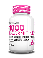 Nutricore 1000 mg L-Carnitine 60 caps