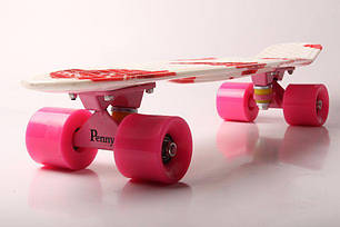 "Пенни Борд Penny Board Принт 22"" - Lips 54 см, фото 2"