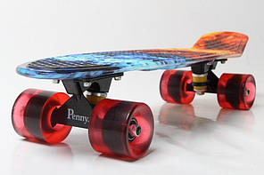 """Пенни Борд Penny Board Принт 22"""" - Ice and Fire - Огонь и лед 54 см, фото 2"""