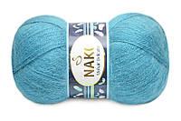Nako Mohair Delicate, Светлая морская волна №06123