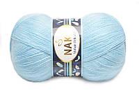 Nako Mohair Delicate, Светло-голубой №06119