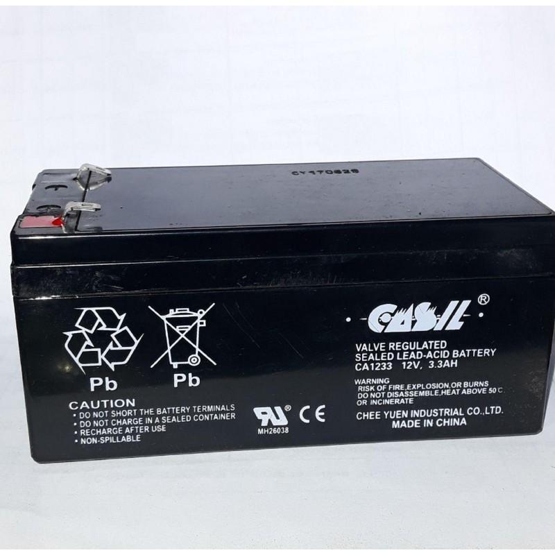 Аккумулятор CASIL СА1233 12V 3.3Ah