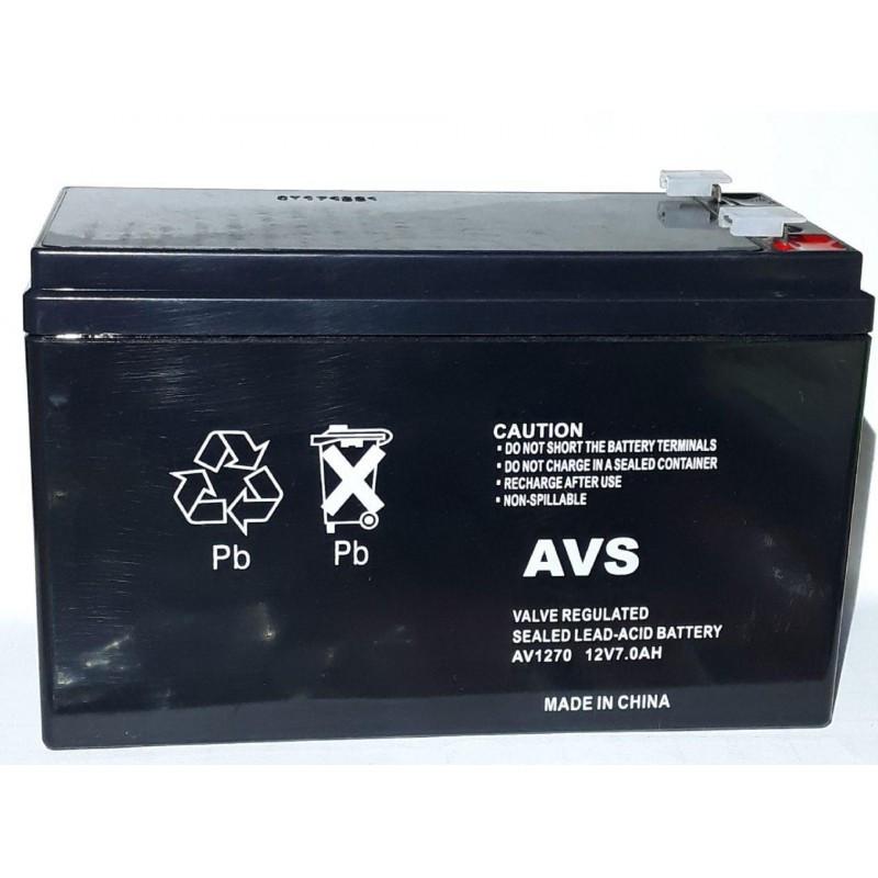 Аккумулятор AVS АV1270 12V 7Ah