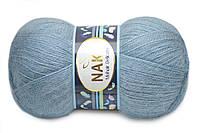 Nako Mohair Delicate, Серо-голубой №06122