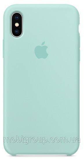 Чехол Silicone Case для iPhone Xs Max, Marine Green