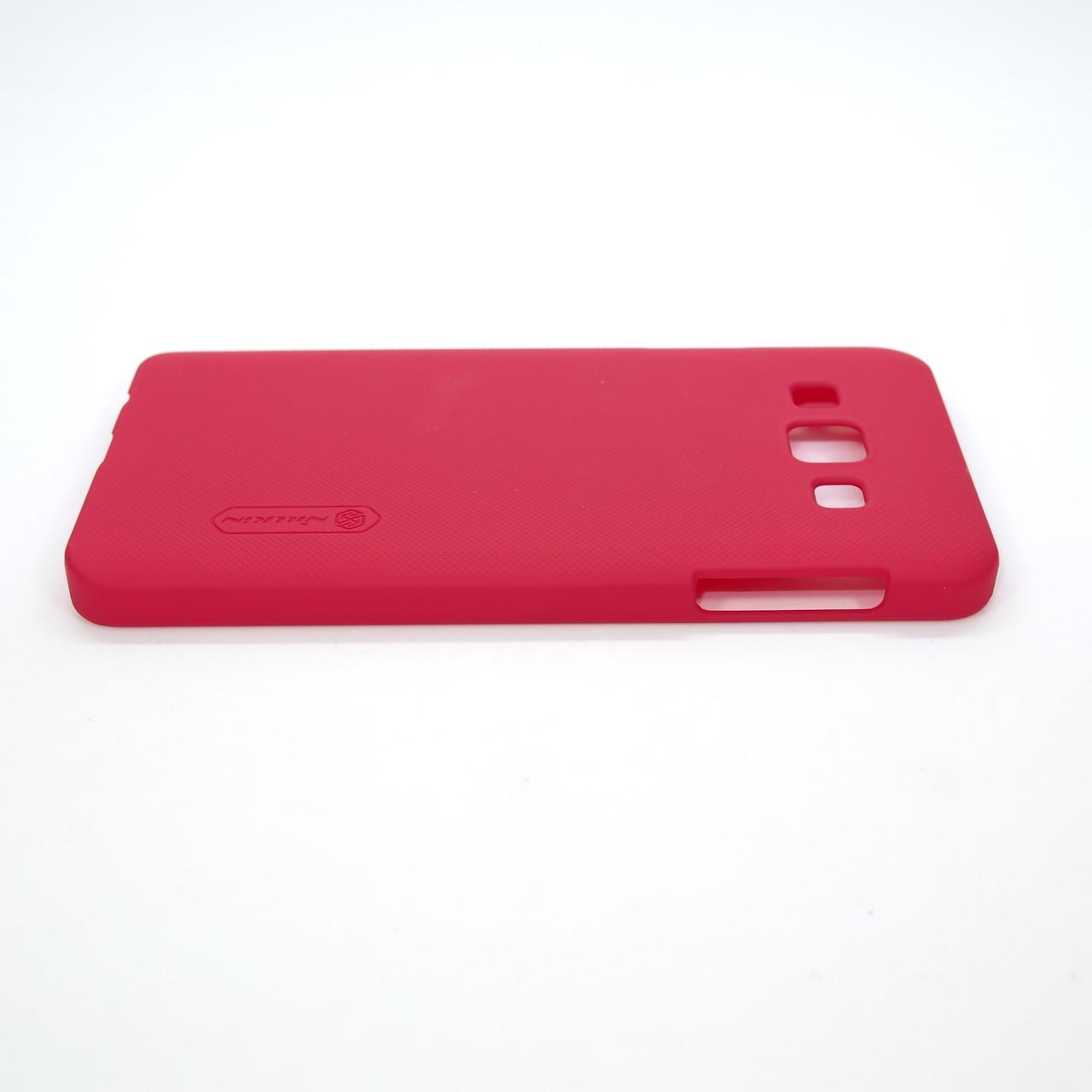 Чехлы для Galaxy A Series (остальные модели) Nillkin Super Frosted Shield Samsung A3 red