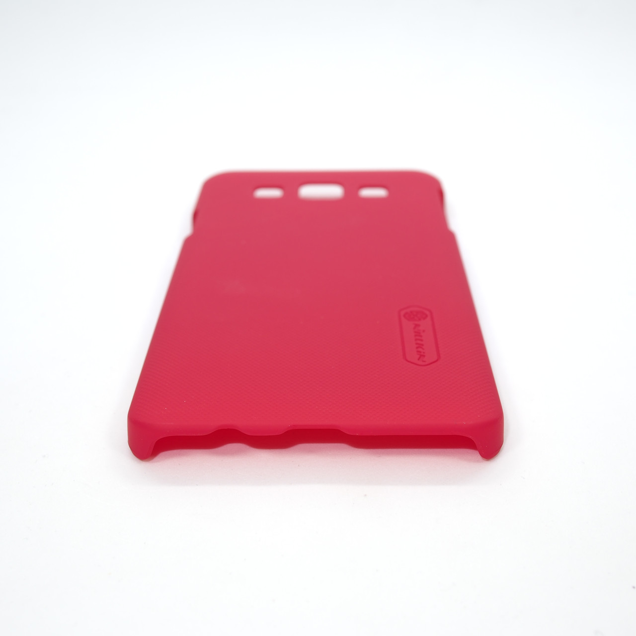 Накладка Nillkin Super Frosted Shield Samsung Galaxy A3 red (a300) 2014 Для телефона