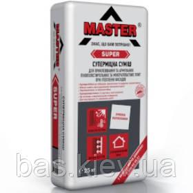 MASTER  SUPER Эластичный универсальный клей для систем теплоизоляции, 25кг