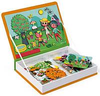 Детская магнитная книга Janod 4 сезона J02721