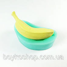 Форма силиконовая Банан 3Д бу