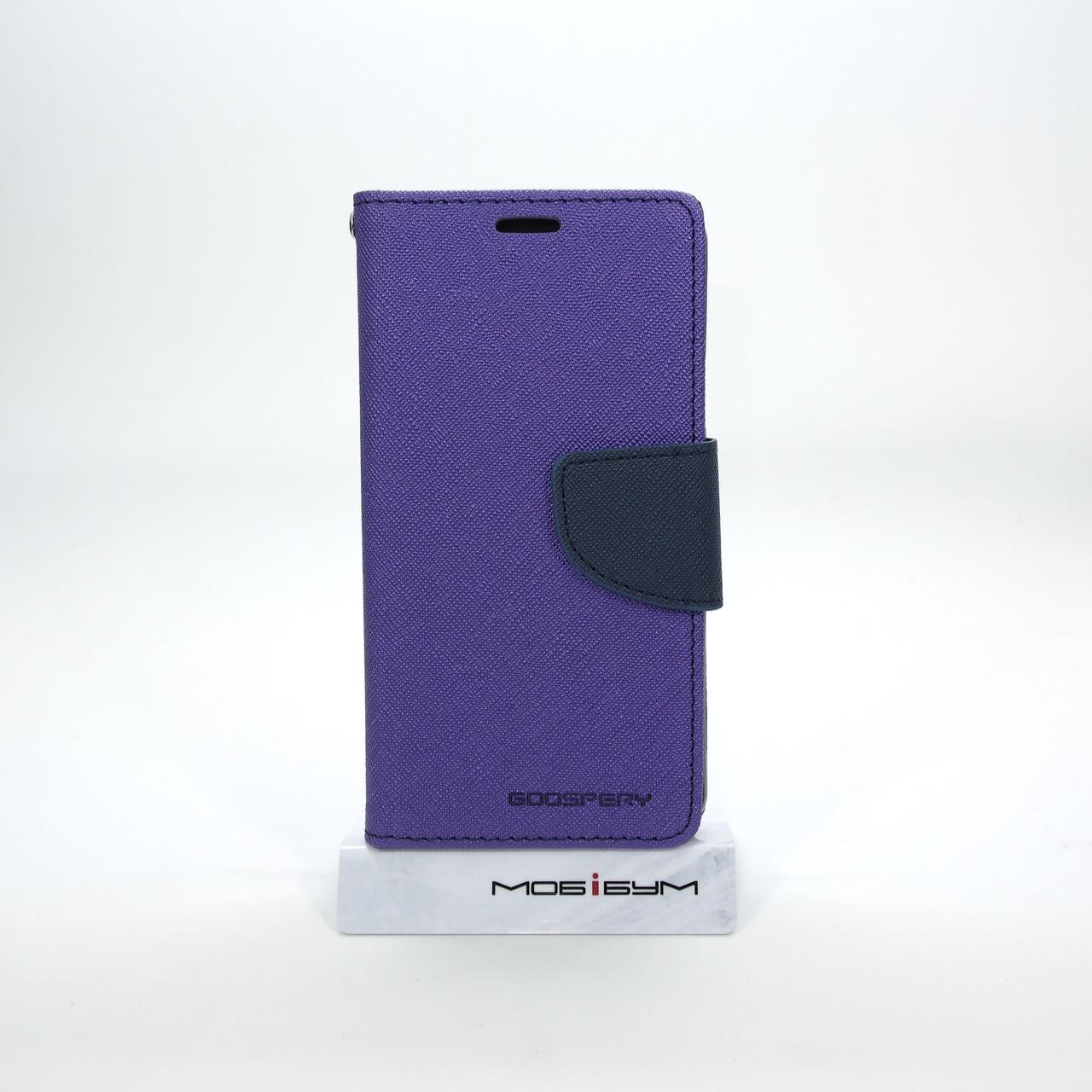 Чехол Goospery Fancy Diary Samsung A310 violet