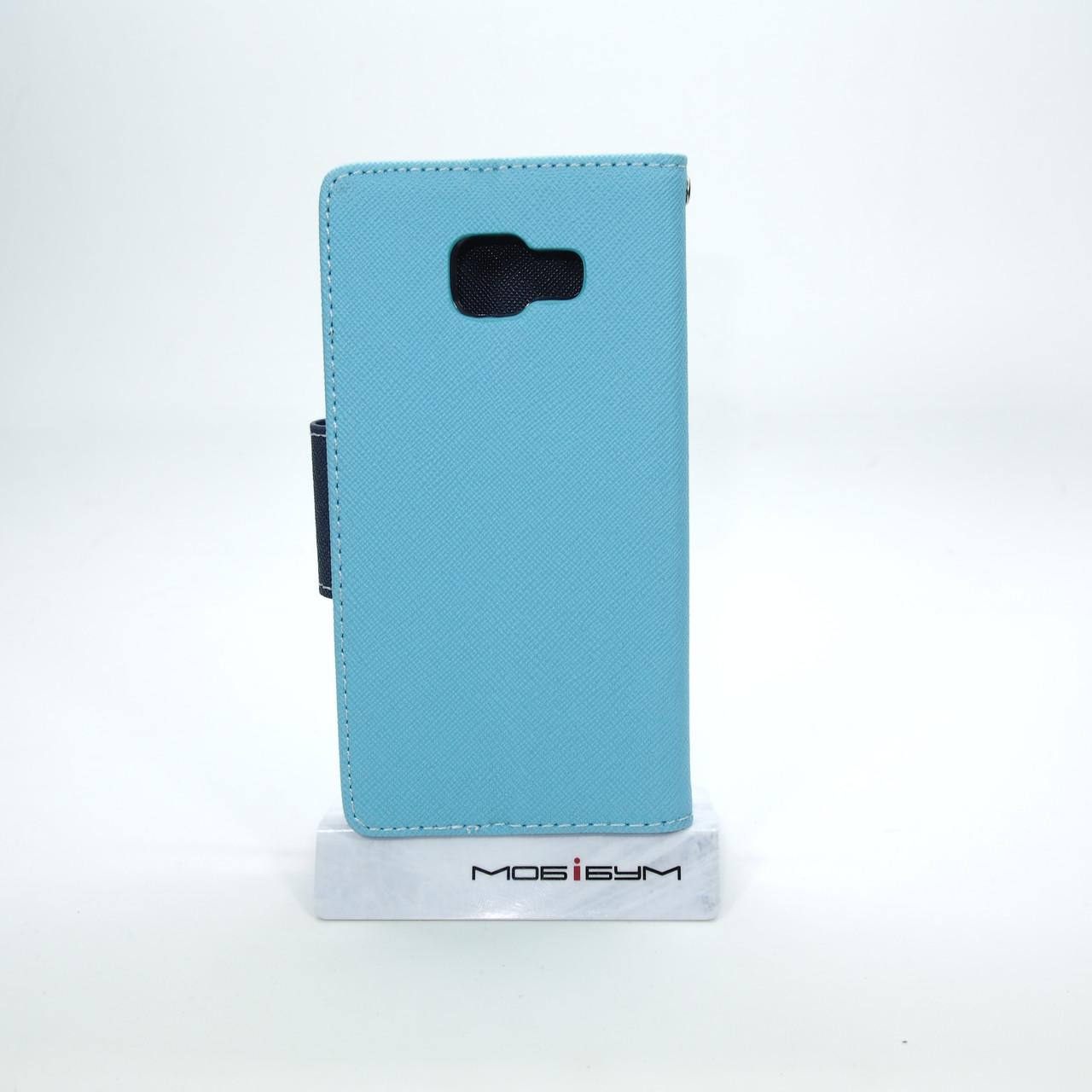 Чехол Goospery Fancy Diary Samsung A310 blue Для телефона