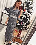 """Платье женское длинное из трикотажа """"Тоскана"""", фото 2"""