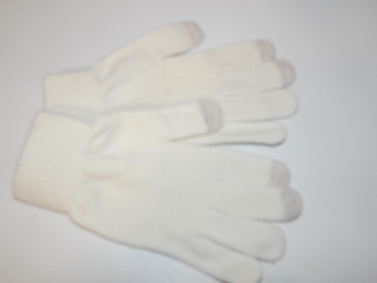 Перчатки женские сенсорные трикотажные р.М (7) 008PGZ