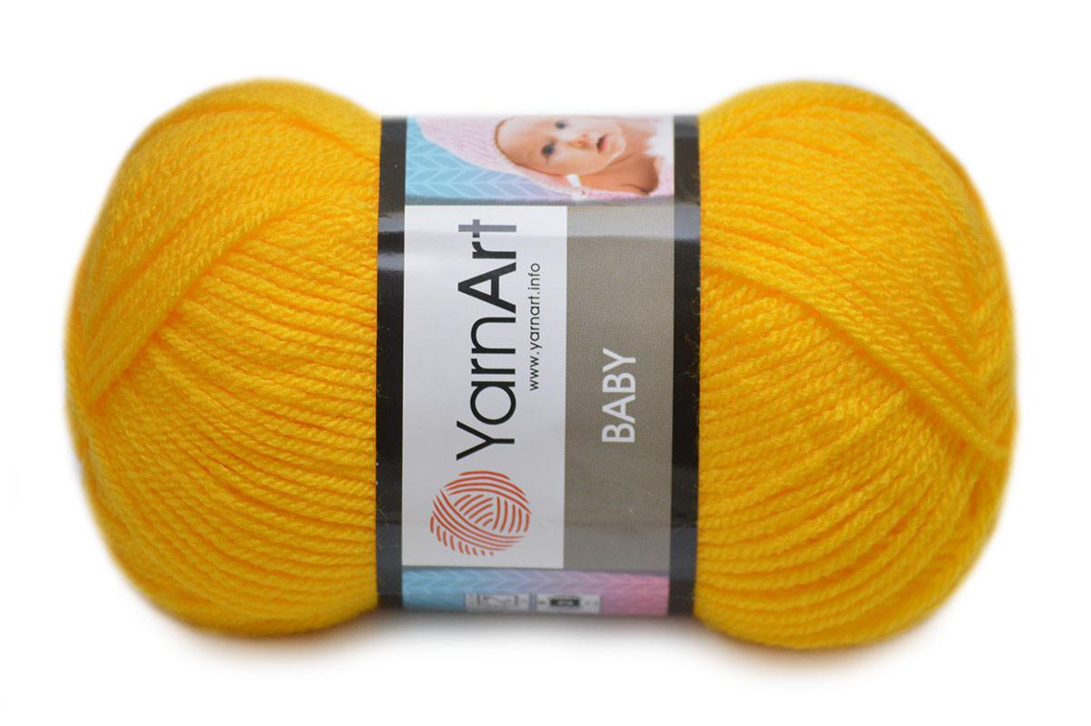 YarnArt Baby, Желтый №32