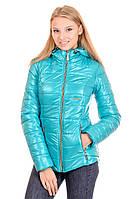 Женская демисезонная куртка IRVIC 50 Мятный, КОД: 259126