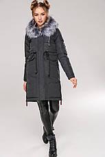 Зимняя женская куртка парка Мирослава Нью Вери (Nui Very), фото 3