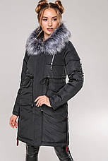 Зимняя женская куртка парка Мирослава Нью Вери (Nui Very), фото 2