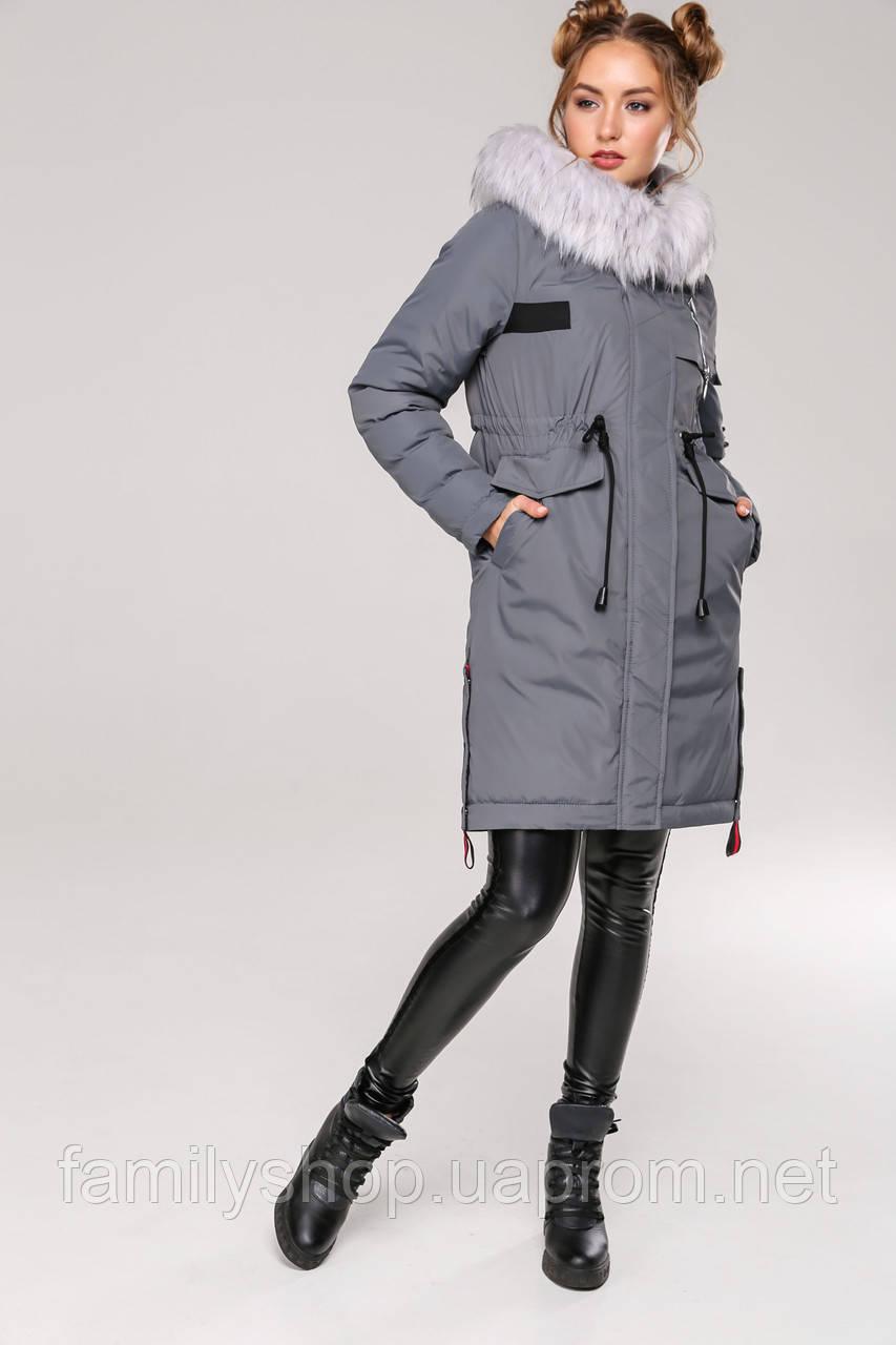 Зимняя женская куртка парка Мирослава Нью Вери (Nui Very)