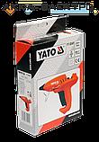Пистолет термоклеевой с регулировкой температуры 150-200°C 11.2мм 35-400ВТ YATO YT-82401, фото 2