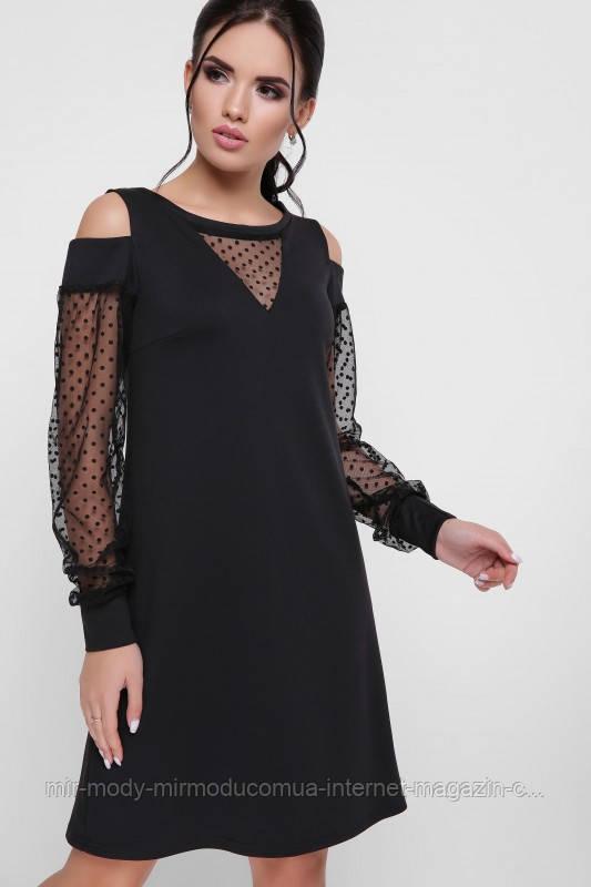 """Платье """"Melisenta"""" черный размер  с 42 по 48  (вст)"""