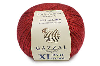 Gazzal Baby Wool XL, Бордо №816