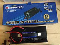 Преобразователь напряжения 3000W (инвертор 12/220В 3000Вт)