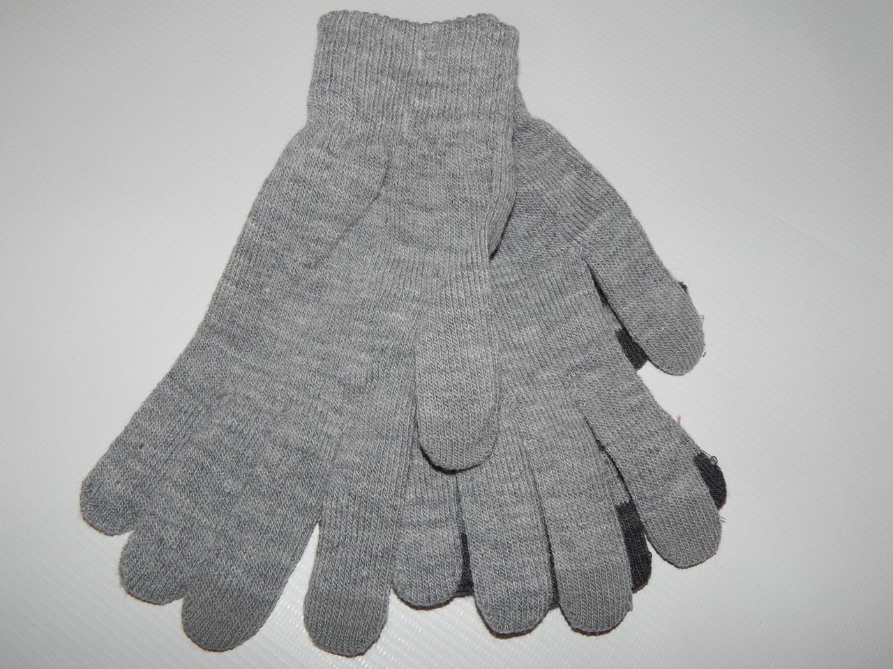 Перчатки женские трикотажные сенсорные р.М (7) 010PGZ