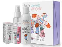 """Набор для девочек """"Лучшие друзья"""" Estel Professional Little Me (shm/200ml + hair/spray/100ml + lip/balm/10ml)"""