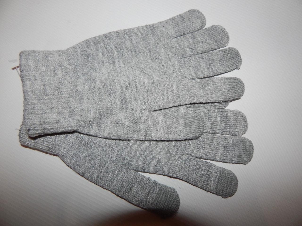 Рукавички жіночі трикотажні р. L (7,5) 012PGZ