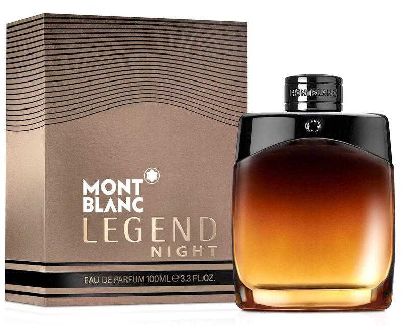 Мужской аромат Mont Blanc Legend Night
