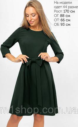 Женское расклешенное платье с бантом (3300 lp), фото 2