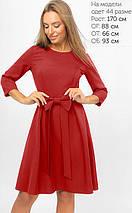 Женское расклешенное платье с бантом (3300 lp), фото 3