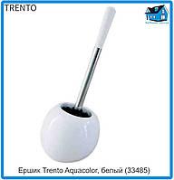 Ершик для унитаза Trento Aquacolor, белый (33485)