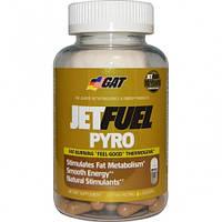 Жиросжигатель GAT JetFuel Pyro Fat-Burning Thermogenic, 120 caps (жолтый), фото 1