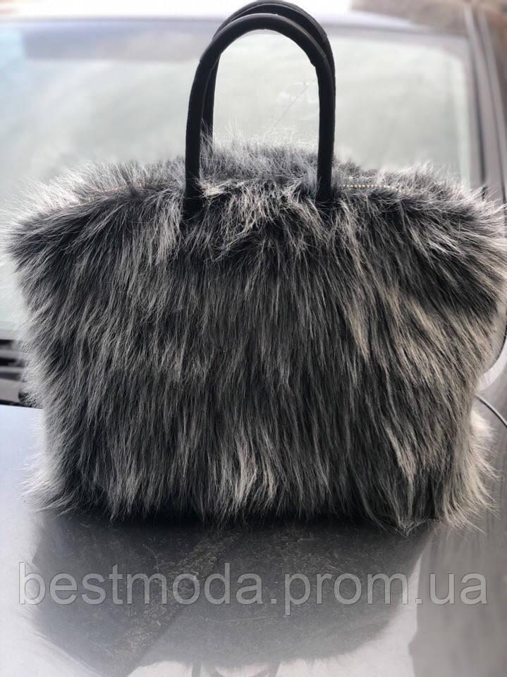 Меховой чехол на сумку
