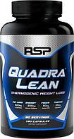 Жиросжигатель RSP Nutrition Quadralean Thermogenic, 180 caps  (черный), фото 1