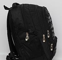 Мужской повседневный городской рюкзак с отделом под ноутбук Swissgear + дождевик