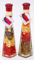 Декоративная бутылка с овощами, 24см, 2 вида BonaDi 131-085