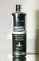 Грязевой шампунь с Алоэ Вера - Shemen Amour  Black Mud Shampoo with Aloe Vera 400мл