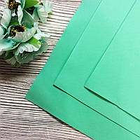 Фоамиран Зеленый бледный 35*30см Иран