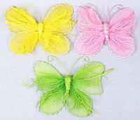 Подвесной пасхальный декор Бабочка 25см, 3 вида BonaDi 199-B12