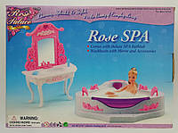 Мебель для кукол Ванная 2613