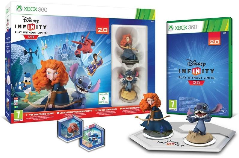 Disney Infinity 2.0 Original Toy Box Стартовый набор Xbox360