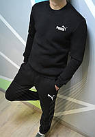 Мужской спортивный костюм Зимний с флисом в стиле Puma